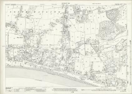 Hampshire and Isle of Wight LXXXIV.11 (includes: Havant) - 25 Inch Map