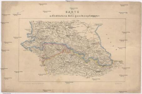 Karte vom nördlichen Kriegsschauplatze