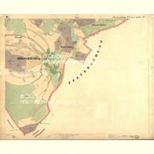 Perleschlag - c5694-1-005 - Kaiserpflichtexemplar der Landkarten des stabilen Katasters