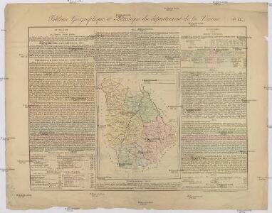Tableau géographique et statistique du département de la Vienne