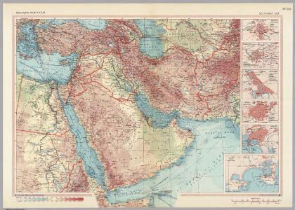 South-West Asia.  Pergamon World Atlas.