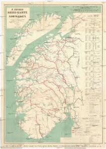 F. Beyer's Reise-Karte von Norwegen