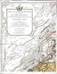 Carte de la Suisse romande, 1