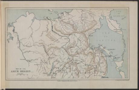 Map of the Amur Region