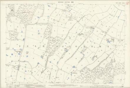 Kent LXXX.9 (includes: Stone cum Ebony) - 25 Inch Map