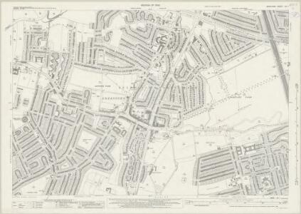 Middlesex XV.7 (includes: Ealing St Mary) - 25 Inch Map
