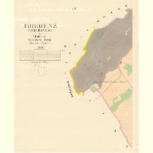 Triebenz (Triebinek) - m0246-1-002 - Kaiserpflichtexemplar der Landkarten des stabilen Katasters