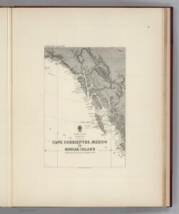 Facsimile:  Pacific Ocean Eastern Part (portion), Cape Corrientes, Mexico to Kodiak Island..