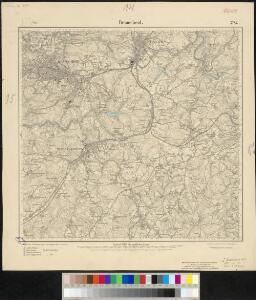 Meßtischblatt 2782 : Remscheid, 1910