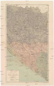 General-Karte des gesammten Insurrections-Gebietes in Bosnien der Hercegovina und Süd-Dalmatien nebst den angrenzenden Ländern Montenegro, Novi-Bazar u. Serbien