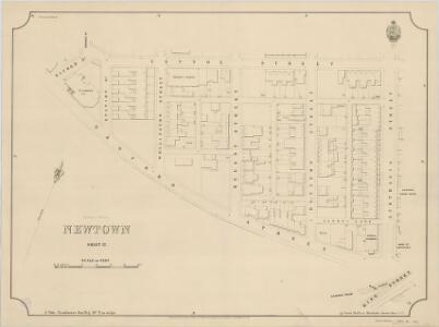 Newtown, Sheet 12, 2nd ed. 1895