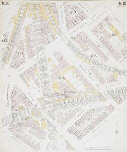 Insurance Plan of London South West District Vol. K: sheet 12
