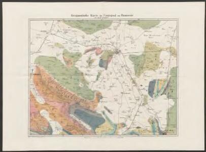 Geognostische Karte der Umgegend von Hannover