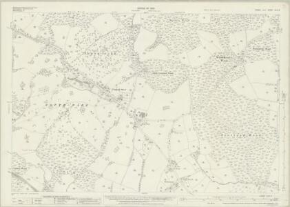 Sussex XLIII.8 (includes: Mountfield; Sedlescombe; Whatlington) - 25 Inch Map