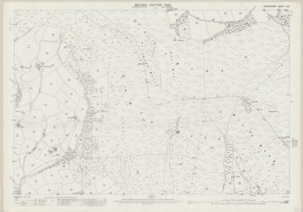 Radnorshire XV.8 (includes: Abaty Cwm Hir; Llanddewi Ystradenni; Nantmel) - 25 Inch Map