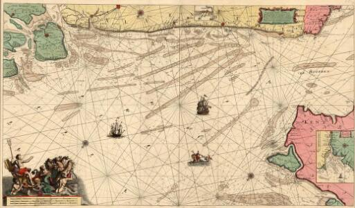 Pascaart Vande Zeeuse Vlaemse en Engelse Kusten