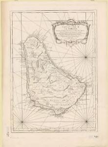 Carte de L'Isle de La Barbade : avec une description geographique de cette isle