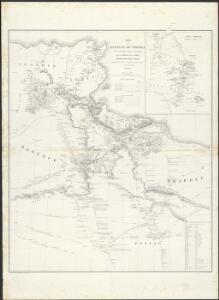 Carte de la Régence de Tripoli et des principales routes commerciales de l'interieur de l'Afrique : d'après les observations de Mr. Prax, les renseignements recueillis par ce voyageur et les études faites par Mr. Renou