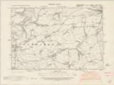 Carmarthenshire XXXVI.SW - OS Six-Inch Map