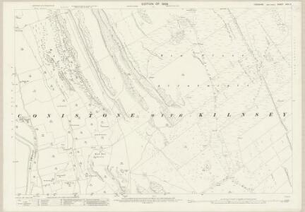 Yorkshire CXVI.9 (includes: Conistone With Kilnsey; Kettlewell With Starbotton) - 25 Inch Map