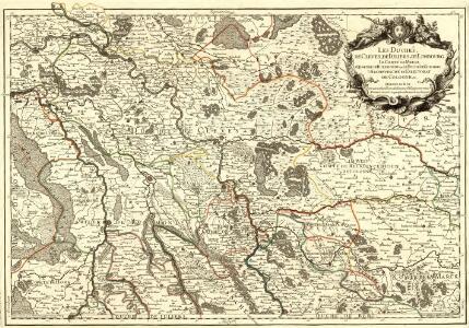 Les Duchés, de Cleves, de Iuliers et de Limbourg, le Comté de Meurs, le Quartier de Ruremonde dans le Duché de Gueldres, L'Archevesché et Eslectorat de Cologne &c.