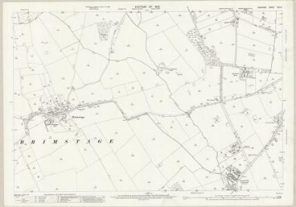 Cheshire XXII.3 (includes: Bebington and Bromborough; Brimstage; Poulton cum Spital; Storeton; Thornton Hough) - 25 Inch Map