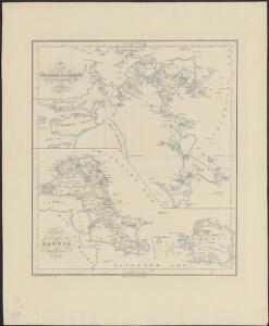 Kaart van den Archipel van Riouw, Singapore en Lingga [and] Kaart van de eilanden Bangka en Blitong