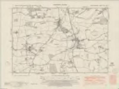 Hertfordshire XXII.NW - OS Six-Inch Map