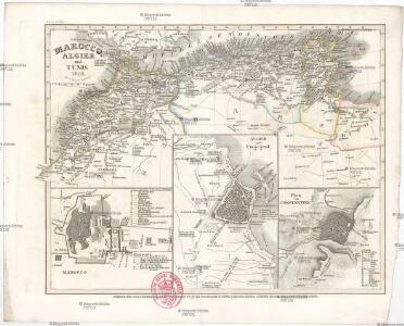 Marocco, Algier und Tunis