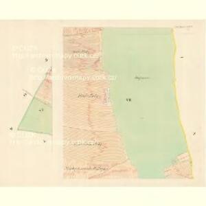 Unter Bojanowitz - m0481-1-007 - Kaiserpflichtexemplar der Landkarten des stabilen Katasters