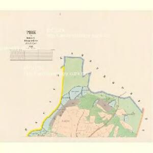 Pirk - c0617-2-001 - Kaiserpflichtexemplar der Landkarten des stabilen Katasters