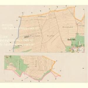 Radschitz (Račice) - c6318-1-001 - Kaiserpflichtexemplar der Landkarten des stabilen Katasters
