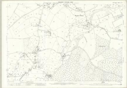 Wiltshire LI.12 (includes: Bishopstrow; Corsley; Longbridge Deverill; Sutton Veny; Warminster) - 25 Inch Map