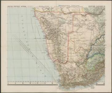 Spezial-Karte von Afrika