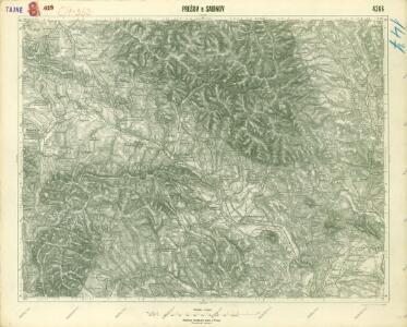 III. vojenské mapování 4366