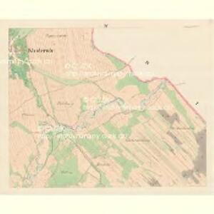 Kladerub - m1183-1-004 - Kaiserpflichtexemplar der Landkarten des stabilen Katasters