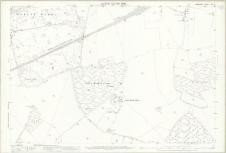 Hampshire and Isle of Wight XVIII.13 (includes: Deane; North Waltham; Oakley; Steventon; Wootton St Lawrence) - 25 Inch Map