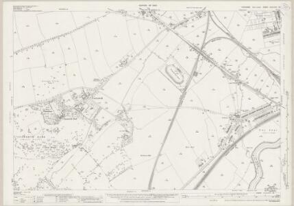 Yorkshire CCLXXVI.16 (includes: Bentley With Arksey; Brodsworth; Doncaster; Spotbrough) - 25 Inch Map