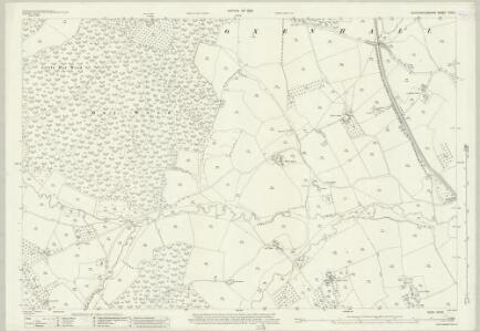 Gloucestershire XVII.9 (includes: Newent; Oxenhall) - 25 Inch Map