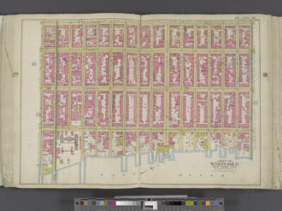 Manhattan, Double Page Plate No. 16 [Map bounded by Lexington Ave., E. 40th St., East River, E. 25th St.]