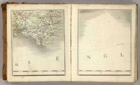 Sheets 3-4.  (Cary's England, Wales, and Scotland).