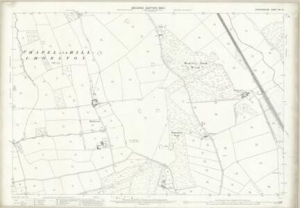 Staffordshire XVII.13 (includes: Madeley; Maer; Whitmore) - 25 Inch Map