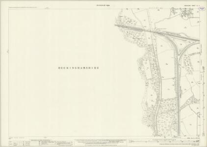 Middlesex IX.11 (includes: Denham; Uxbridge) - 25 Inch Map