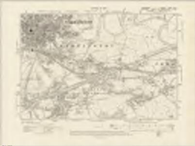Lancashire CXVI.NW - OS Six-Inch Map