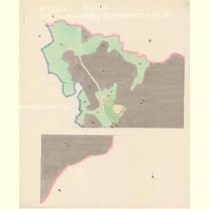 Krenau - c3622-1-001 - Kaiserpflichtexemplar der Landkarten des stabilen Katasters