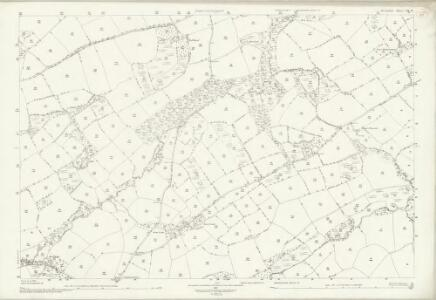Devon LII.8 (includes: Broadwood Kelly; Iddesleigh; Monk Okehampton) - 25 Inch Map