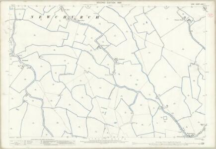 Kent LXXXI.7 (includes: Newchurch) - 25 Inch Map