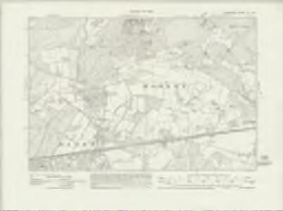 Hampshire & Isle of Wight XII.SE - OS Six-Inch Map