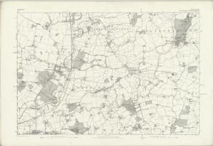 Hertfordshire XXXI - OS Six-Inch Map