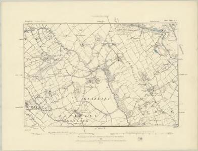 Shropshire LXVI.NW - OS Six-Inch Map
